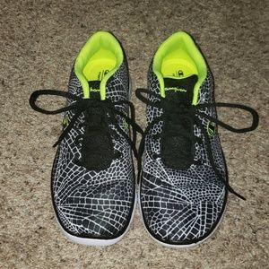 NWT Black, white, yellow Champion athletic shoes